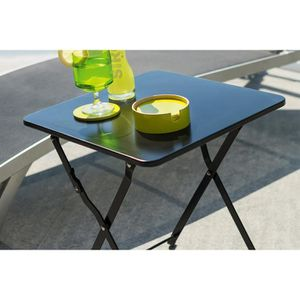 table jardin metal pliante achat vente table jardin. Black Bedroom Furniture Sets. Home Design Ideas