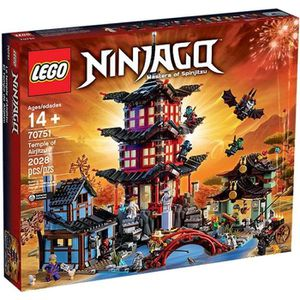 ASSEMBLAGE CONSTRUCTION Lego 70751 Ninjago : Le temple de de l'Airjitzu
