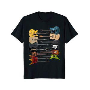 T-SHIRT Beaucoup de guitares basses électriques t-shirt Ro