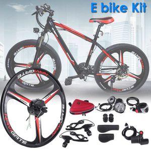KIT VÉLO ÉLECTRIQUE 300W 26'' 36V Bicyclette Électrique Moteur Kit Con