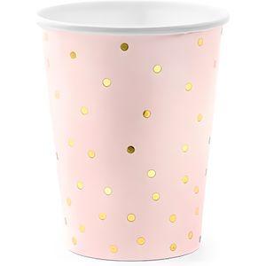 Large Cupcake Cases Papier//papier ingraissable Rose Rouge//Bleu Dot 40pcs