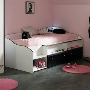 lit enfant led achat vente lit enfant led pas cher cdiscount. Black Bedroom Furniture Sets. Home Design Ideas