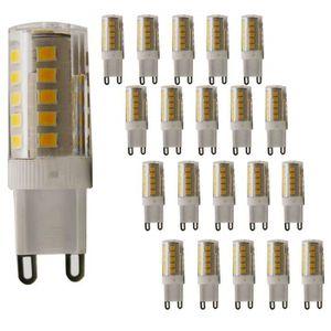AMPOULE - LED Lot de 20 ampoules à LED G9 G9 Blanc chaud 2800 K