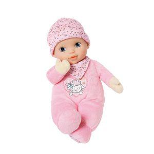 POUPÉE Zapf Baby Annabell Newborn Heartbeat, Beige, Rose,