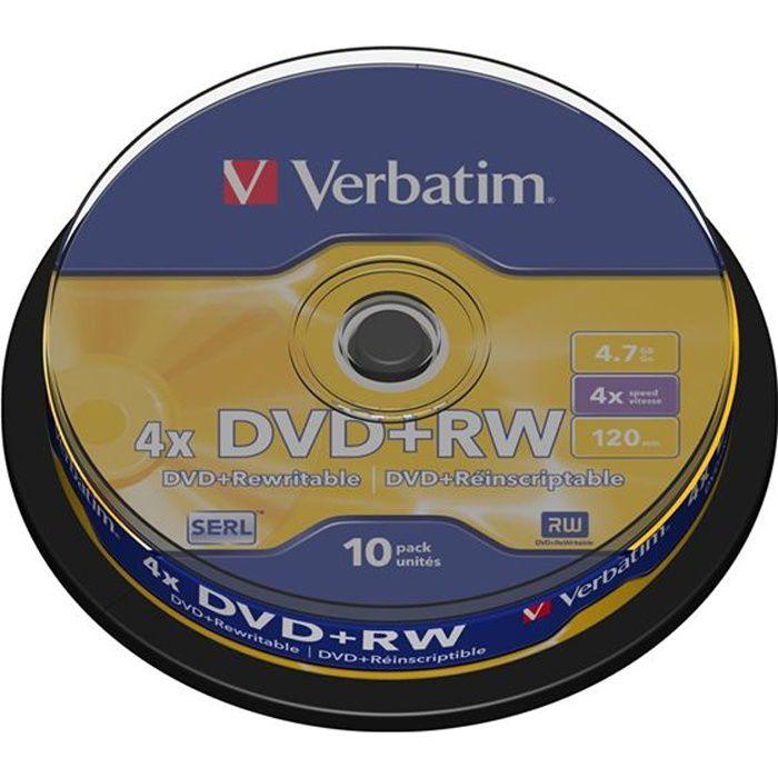 Verbatim DVD+RW 4x