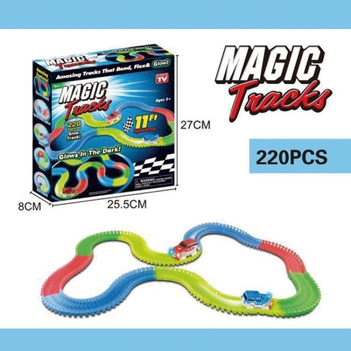 MAGIC TRACKS - Circuit lumineux-Enfant Cadeau
