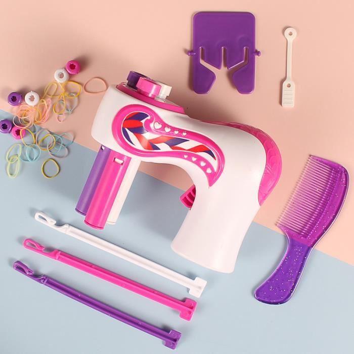 Machine à tresser automatique pour enfants - Dispositif de nouage électrique des cheveux - Jouets pour enfants