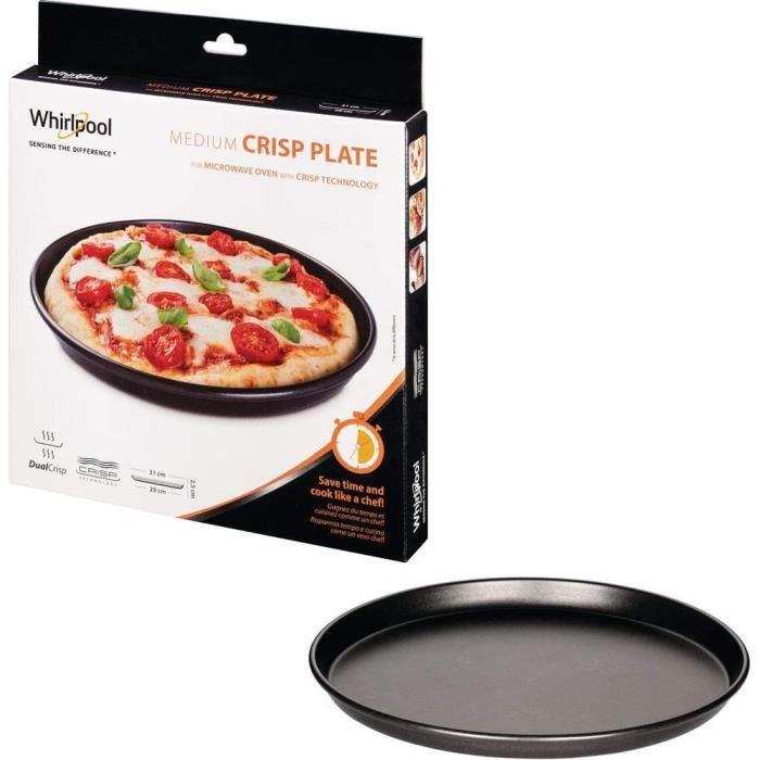 Wpro AVM290 Plat Crisp Diamegravetre: 31 cm pour Micro-Ondes Crisp Wpro VIP27 -34 et Talent