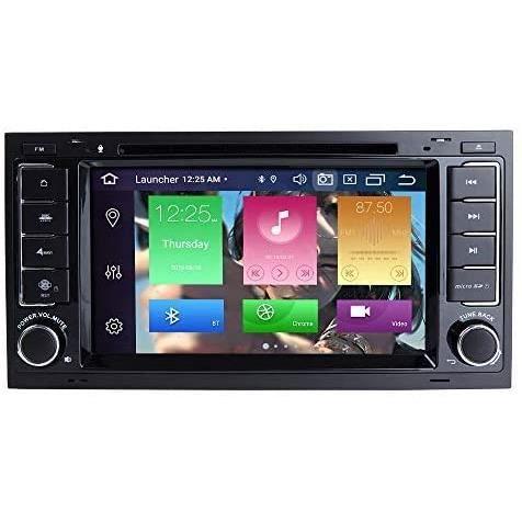 AUTORADIO pour VW Volkswagen Touareg T5 Transporter Android 10.0 Octa Core 4G RAM 128G ROM 7- Lecteur DVD de Voiture Radio Syst&206