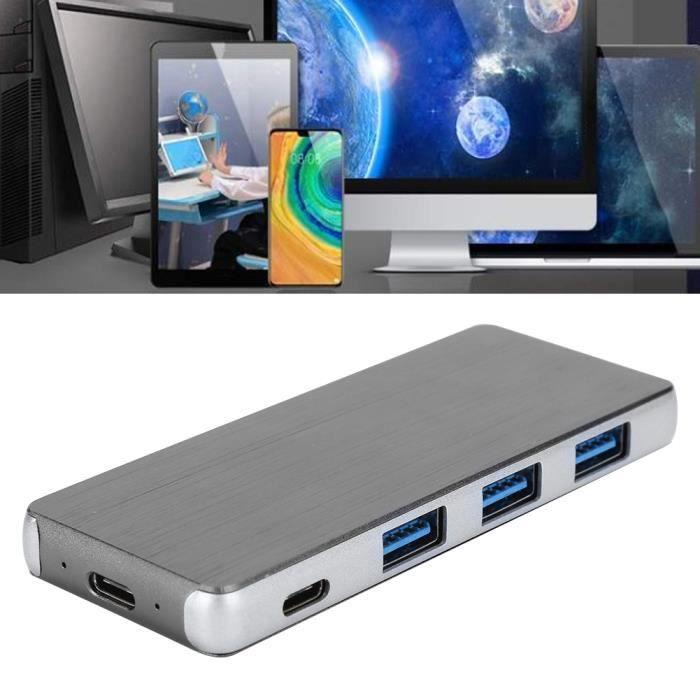 DUO Disque dur à semi-conducteurs Disque Dur à Semi-Conducteurs Disque SSD Externe Mobile de Type C avec Station d'Accueil