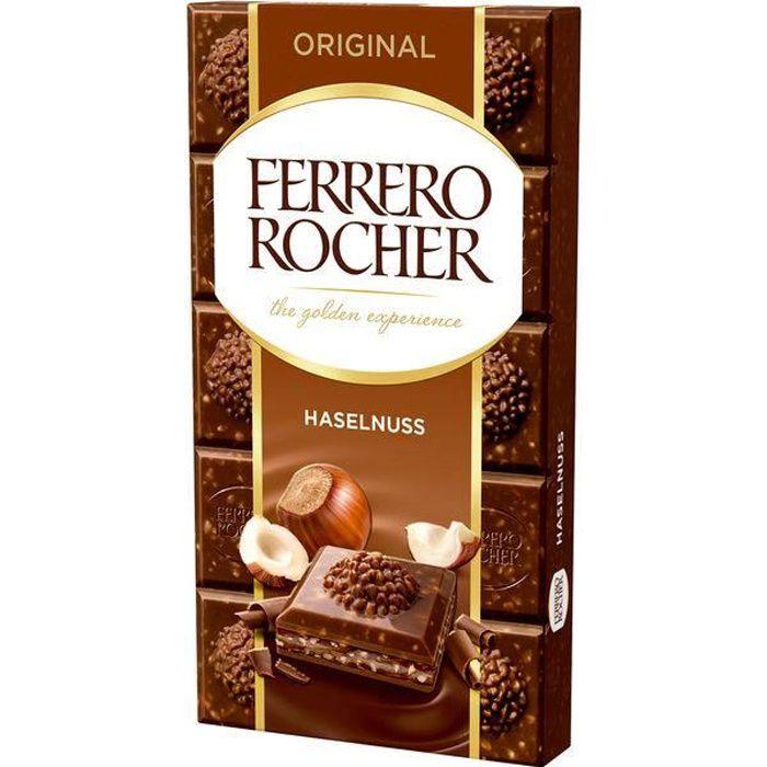 Ferrero Rocher Original Noisette chocolat 90g (Pack de 8)