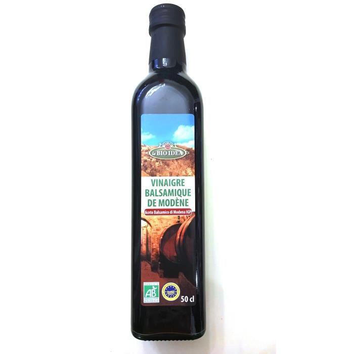 Vinaigre balsamique de Modène 500 ml biologique