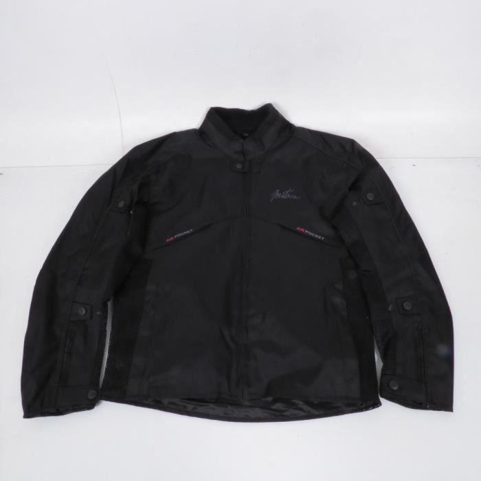 Blouson type veste de moto Mitsous Air Melt Taille S homme coloris noir Neuf
