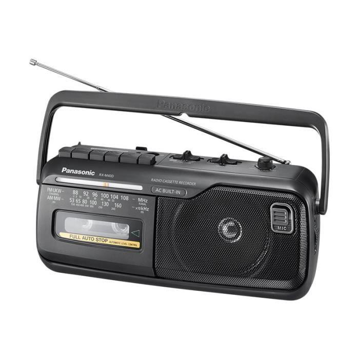Panasonic-RX-M40DE-K Boombox 1 Watt