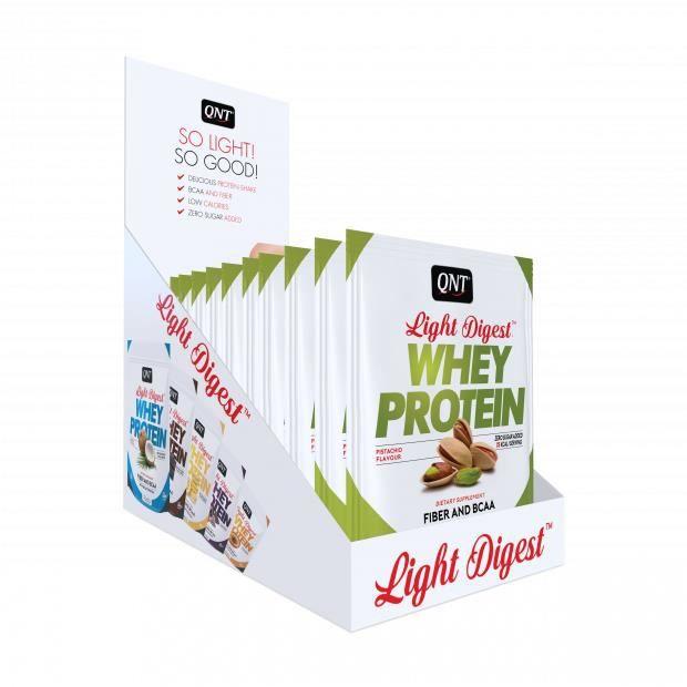 Light Digest Whey Protein - Boîte pistache 12 x 40 g