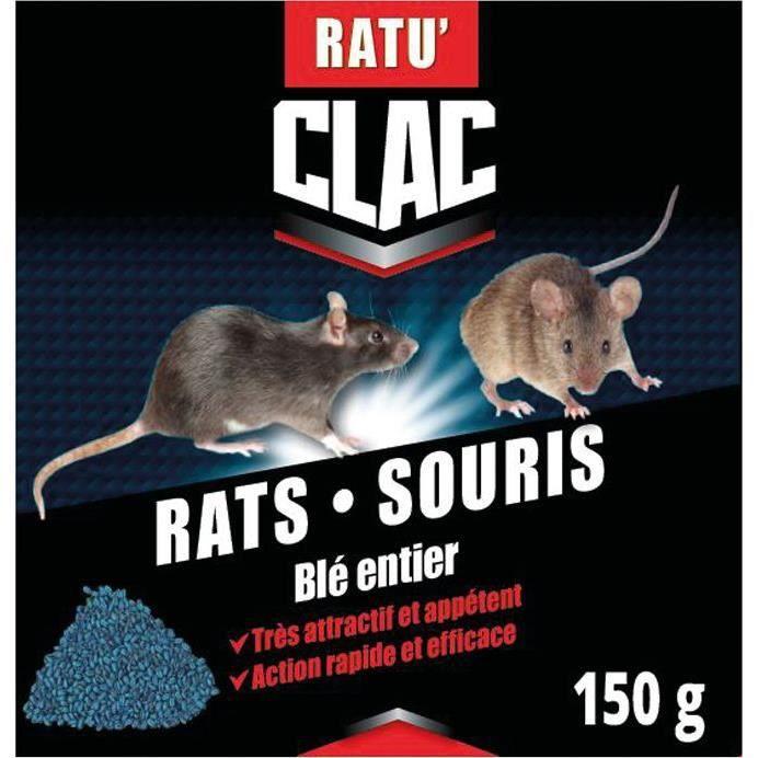 RATUCLAC Rat-souris céréales - 150g