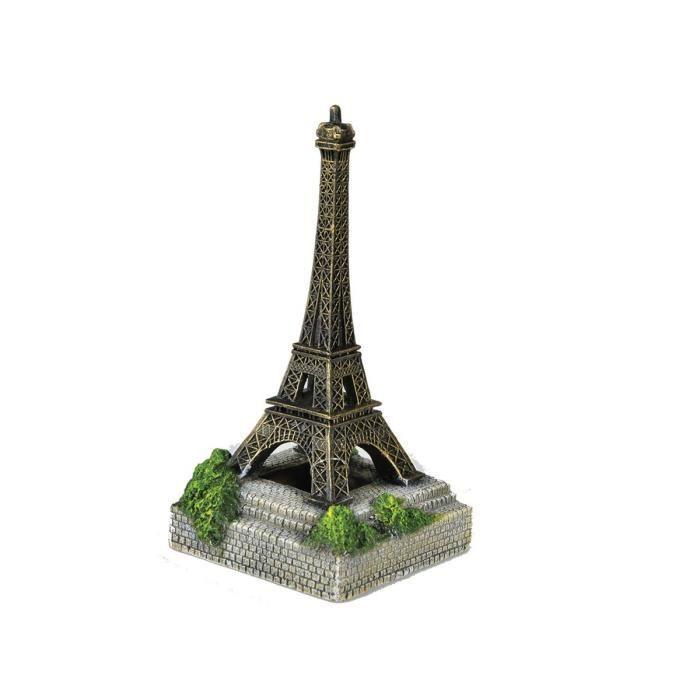 VADIGRAN Aqua Deco Tour Eiffel - 10,8 x 10,8 x 20,8 cm