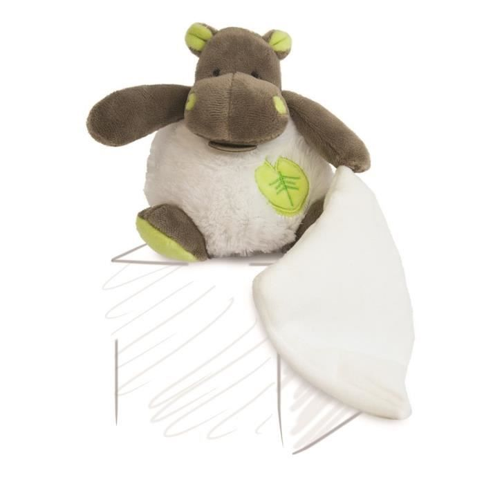 mon Petit Hippo Baby Nat Mobile Musical Bazille