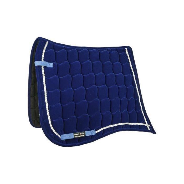 Tapis Pointe velours Bleu Dressage