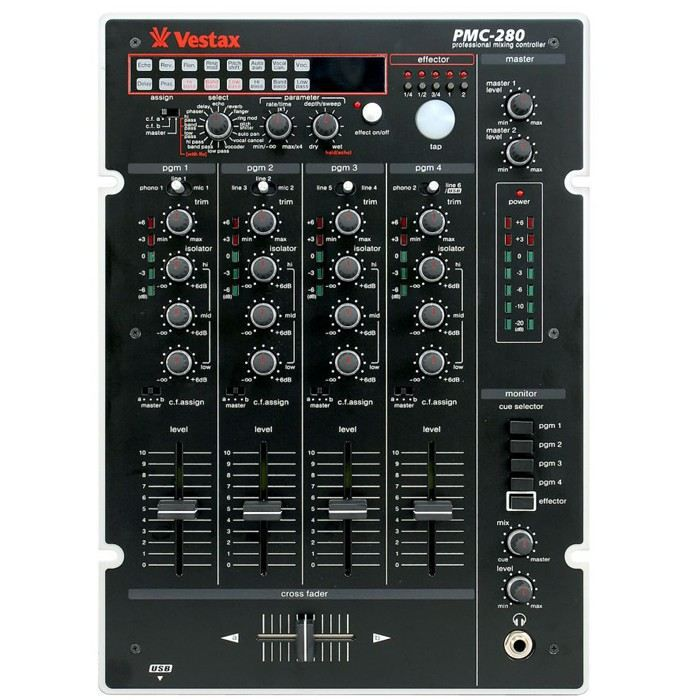 vestax pmc280 v1 2 table de mixage table de mixage avis et prix pas cher cdiscount. Black Bedroom Furniture Sets. Home Design Ideas