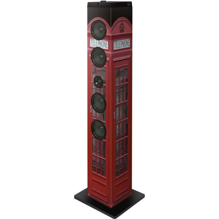 tour multimedia bluetooth port usb sd radio motif cabine telephonique station d 39 accueil avis. Black Bedroom Furniture Sets. Home Design Ideas