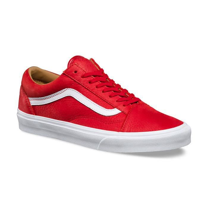vans rouge old skool