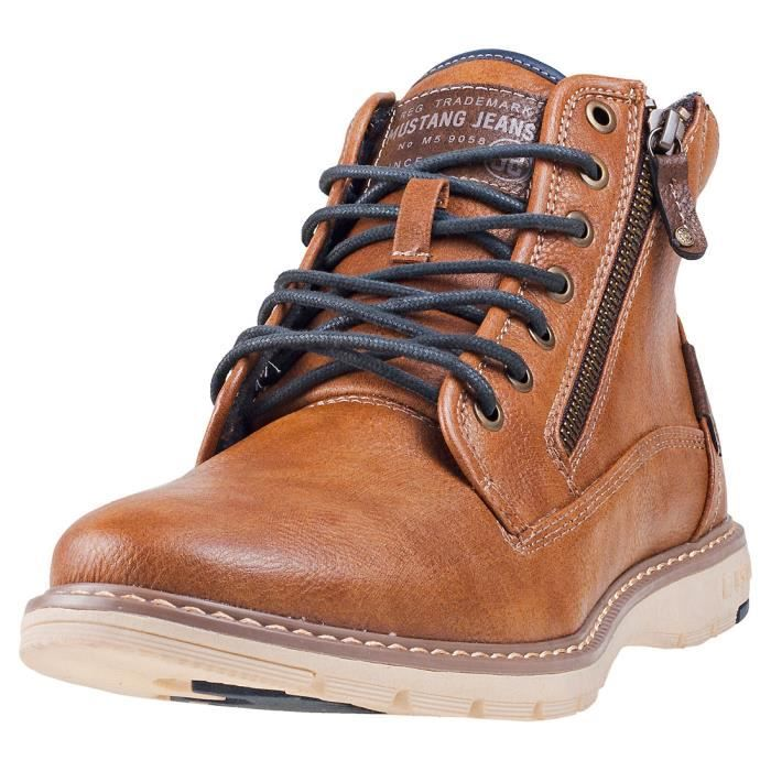 Lace Bottes châtaigne Up 43 Hommes EU Boot Mustang chukka 6vIgyfmb7Y