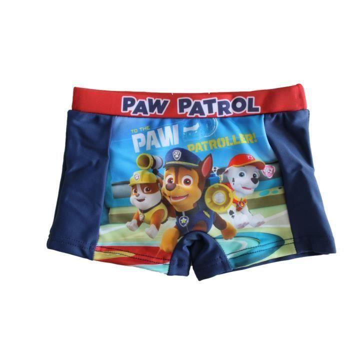 patrouille Maillot de Bain Boxer 5//6 Ans la Pat