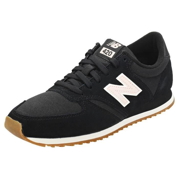basket new balance noir or