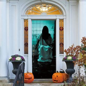 Decoration Porte Halloween Halloween Door And Window Covers With