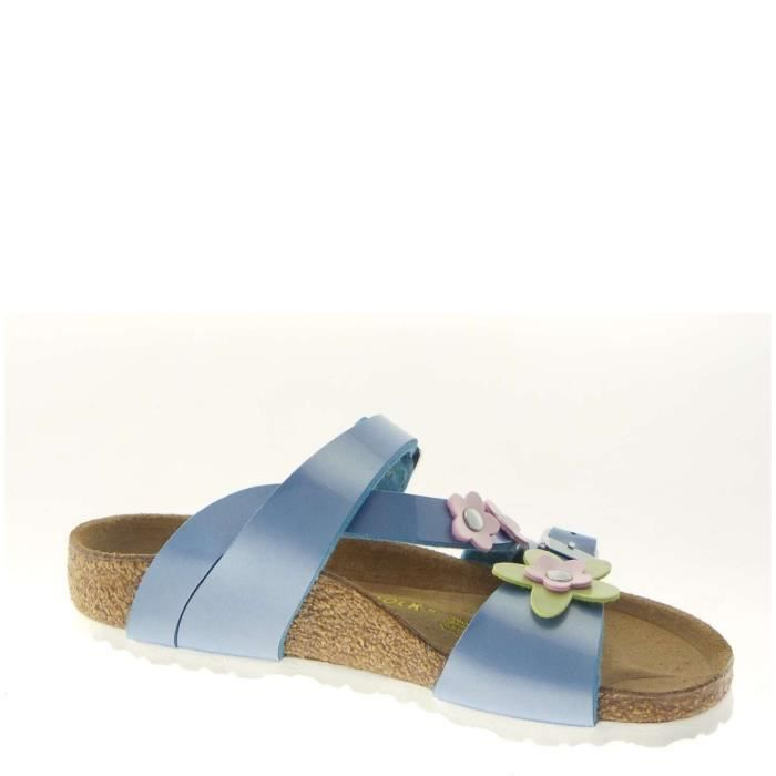 Birkenstock Salina Baby Light Blue Flower Light... wjsmoFBqZb