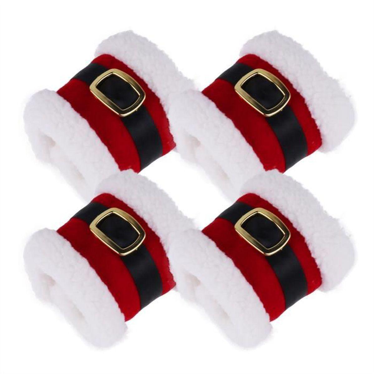 20 Papier Fête Serviettes Ornements de Noël Pack de 20 3 plis Tissu Serviettes