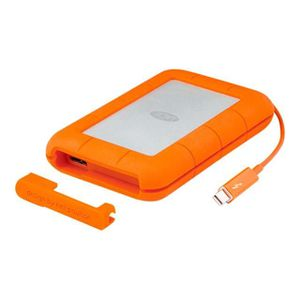 DISQUE DUR EXTERNE LACIE RUGGED THUNDERBOLT DD 2 To + Cable