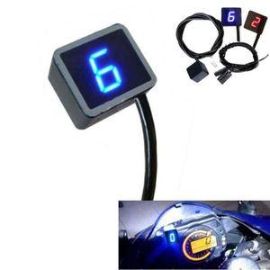 LED Vert Indicateur de Vitesse /étanche pour Moto Affichage LED pour Yamaha