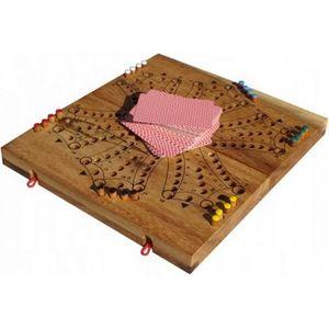 JEU SOCIÉTÉ - PLATEAU Jeu de tock ou jeu de toc jusqu'à 6 joueurs , jeu