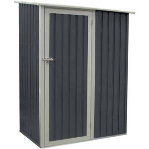 ABRI JARDIN - CHALET Abri de jardin en métal Joy 1,3 m² gris anthracite