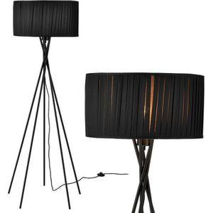 LAMPADAIRE lux.pro lampadaire - Black Mikado - (1 x socle E27