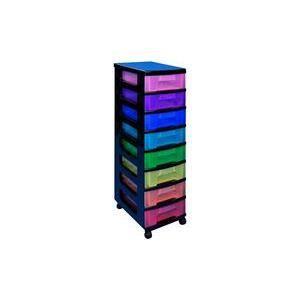 BOITE DE RANGEMENT Really Useful Box Tour de rangement, 8 tiroirs …