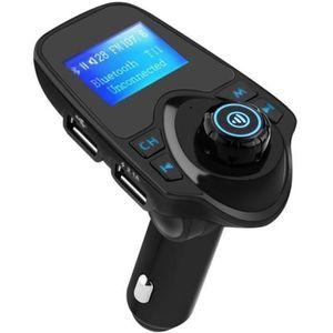 TRANSMETTEUR FM Transmetteur FM Bluetooth, Kit de Voiture Sans Fil