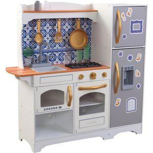 DINETTE - CUISINE KidKraft - Cuisine en bois Mosaic Magnetic - 53448