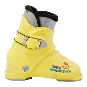CHAUSSURES DE SKI Chaussure ski junior Rossignol mini R 18 jaune