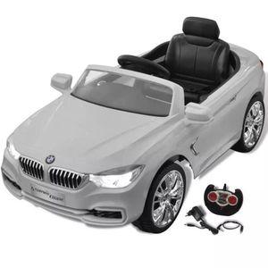 VOITURE ELECTRIQUE ENFANT BMW Voiture enfant à batterie avec télécommande Bl