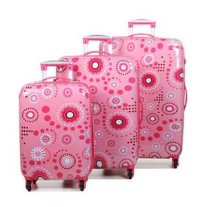 SET DE VALISES Ensemble de 3 valises original robust II  motif ro