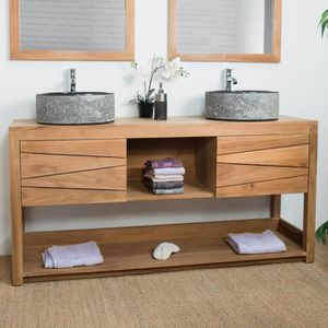 meuble sous lavabo meuble sous vasque pas cher. Black Bedroom Furniture Sets. Home Design Ideas
