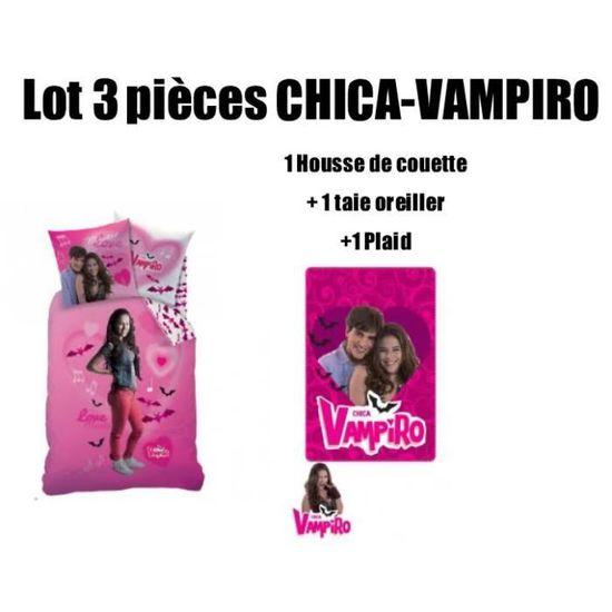 cheap prices coupon code details for CHICA VAMPIRO - Lot de 3 pièces housse de couette + taie d ...
