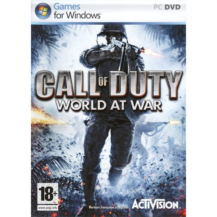 JEU PC Call Of Duty 5 World At War Jeu PC