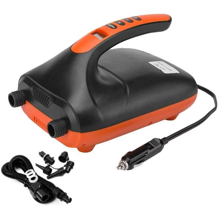 Pompe gonfleur electrique paddle air lectrique pour bateau gonflable avec arrt automatique PSI prrgl max 20 PSI et 6 adaptate[918]