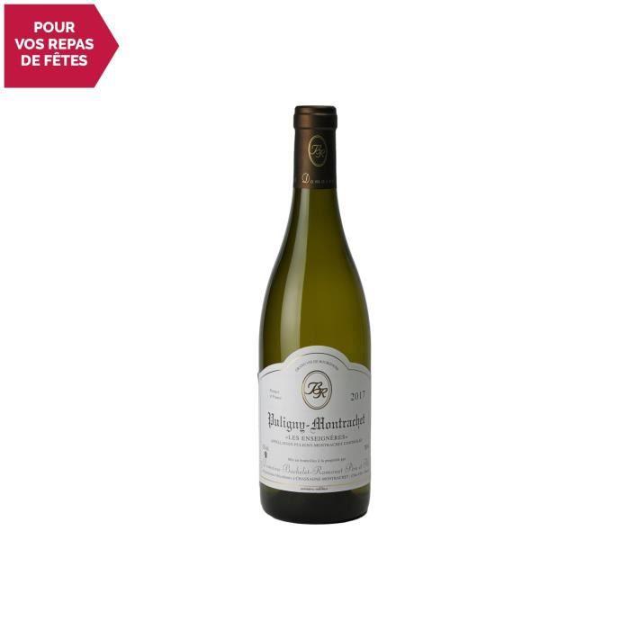 Puligny-Montrachet Les Enseignieres Blanc 2017 - 75cl - Domaine Bachelet-Ramonet - Vin AOC Blanc de Bourgogne - Cépage Chardonnay
