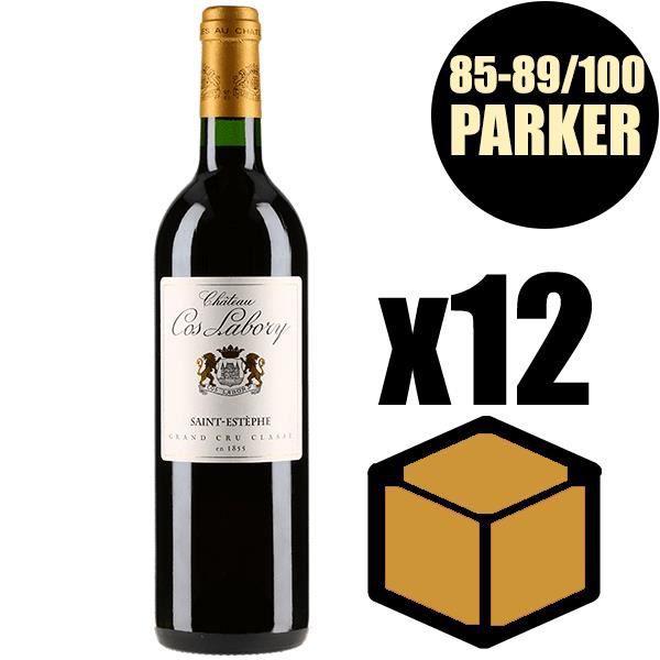 X12 Château Cos Labory 2015 75 cl AOC Saint-Estèphe Rouge 5ème Cru Classé Vin Rouge