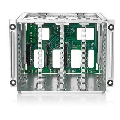 "HEWLETT PACKARD ENTERPRISE Compartiment pour lecteur de support de stockage Box1/2 Cage/Backplane Kit - 2.5"" - SATA / SAS"
